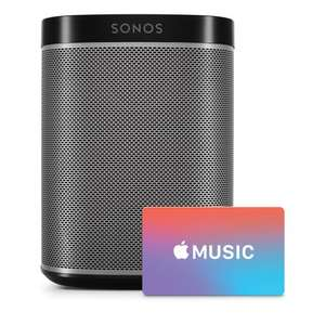 Sonos Play 1: Wireless Speaker with £29.97 Apple Music / iTunes Gift Card £149.95