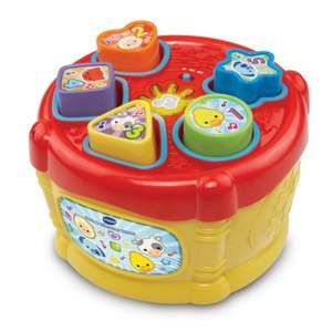 VTech Baby Sort and Discover Drum - £7.97 (Prime) £12.72 (Non Prime) @ Amazon