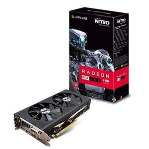 sapphire rx 480 nitro+ 8gb approx £220 with postage )@ Amazon France