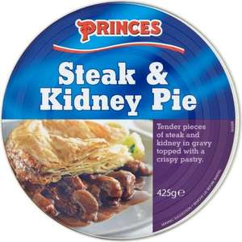 Princes Steak & Kidney Pie (425g) was £1.00 now 69p @ B&M
