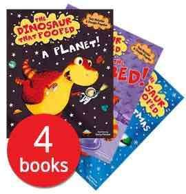 The dinosaur that pooped collection - 4 books - £8.94 Delivered @ The Book People