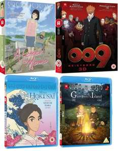 Production I.G Film Bundle. 4 Anime Movies on Blu Ray for £28.99 at Alltheanime.com.