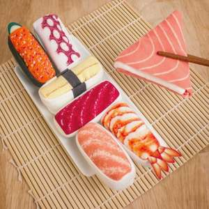 Sushi Socks! Now you REALLY want some.....£11.98 Delivered @ Firebox