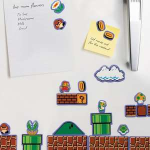 Super Mario Fridge Magnets - £3 instore in Sainsbury's
