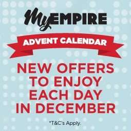 Empire Cinemas Advent Calendar - Offers everyday