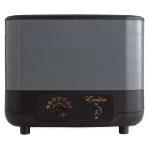 Excalibur 5-Tray Stackable Dehydrator £59.99 @ Sousvidetools.com