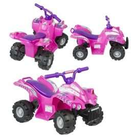 Evo ATV Quad Bike Electric Ride-On Pink £20 Instore @ Morrisons