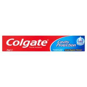 Colgate Cavity Protection Toothpaste 75ml  2 for £1.50 instore / online @ Morrisons