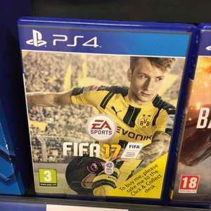 FIFA 17 PS4  £29 Tesco instore Acocks green