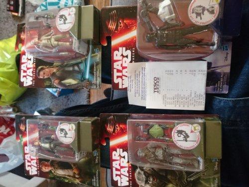 star wars the Force awakens little figures 83p tesco instore