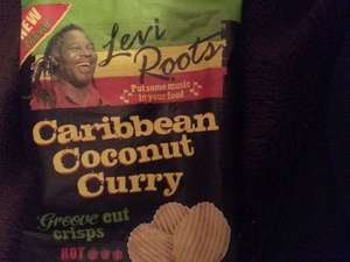 Levi Roots Caribbean Coconut Curry Flavour Crisp - 20p instore @ Heron Foods
