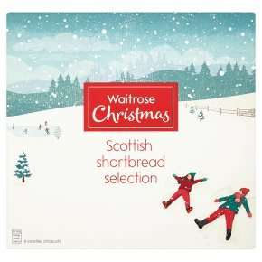 Scottish All Butter Shortbread 450g was £4.00 now £2.40 @ Waitrose