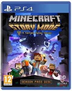 Minecraft: Story Mode (PS4) £13.49 used @ GAME