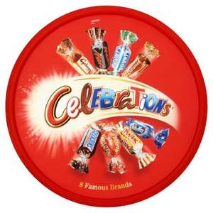 Celebrations Tub 750g  2 for £8.00 @ Morrisons