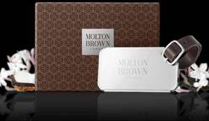 FREE luxury luggage tag when spent £45 at Molton Brown.