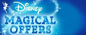 25%+ off on selected items and 20% off non discounted items (over £50 spend) @ Disney store