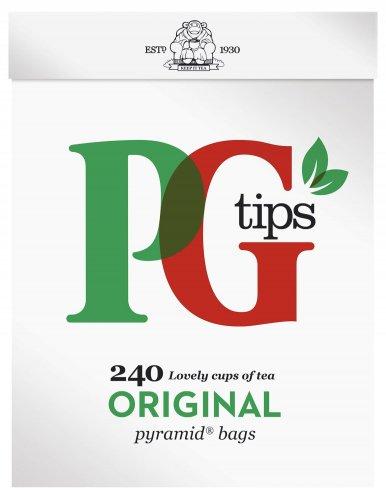 Pg Tips Tea Bags 240 per pack for £3 at Morrisons