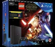 PS4 slim 500GB Console + Lego Star Wars + Star Wars: The Force Awakens + 2 MORE FREE GAMES! £229.85! PS4 Slim + 3 games & a film, Great Deal! Shopto