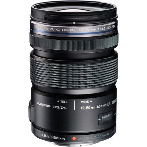 Olympus M.Zuiko 12-50mm F3.5-6.3 EZ Lens - Black £129 - SRS Microsystems