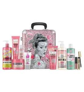 Soap & Glory The Whole glam lot with vanity case confirmed as star gift was £60 will be £30 @ Boots