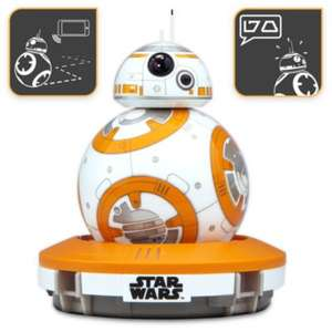 BB-8 Interactive Robotic Droid by Sphero £97.46 + poss 6% Quidco TODAY ONLY @ Disney store
