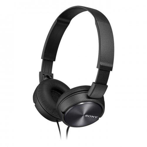 Sony MDRZX310 Foldable Headphones - Metallic Black  £11.87 Tesco