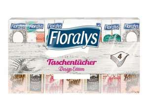 Floralys pocket tissues, design edition, 4-ply. 84 packs of ten. £2.99! instore @ LIDL Dewsbury