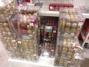 50 assorted Christmas tree decorations £3 @ Debenhams instore - Meadowhall