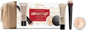Bare minerals 3 piece gift set in cosmetic bag was £36.50 now £18.25 - half price plus free delivery with code @ Debenhams