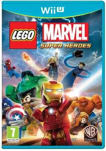 LEGO Marvel Super Heroes Wii U Game @ Argos - £11.99