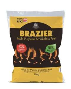 smokeless coal 10kg (270kg) - £3.25 per bag using code @ Wickes