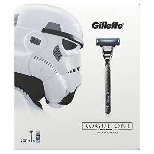 Gillette Mach3 Turbo Razor Plus Two Razor Blades Star Wars Special £5 Amazon Prime Exclusive