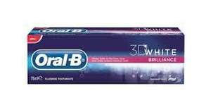 Oral B 3D White Brilliance Toothpaste 75ml £1.73 @ Superdrug