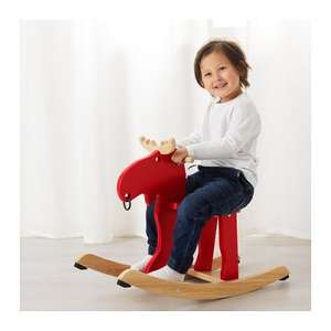 EKORRE rubberwood rocking moose for £18 instead of £26 @ IKEA Coventry (for IKEA FAMILY members)
