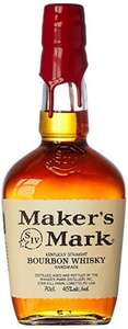 Makers Mark Bourbon Whiskey, 70 cl £21.99 @ Amazon