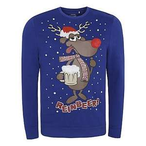 Reindeer Christmas jumper £12 free delivery to store at Asda
