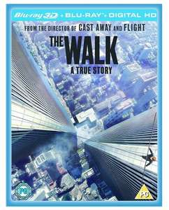 The Walk Blu-ray 3D + Blu-Ray £4.49 @ Base