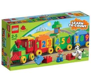 lego duplo numbers train £5.99 at Argos (Free C&C)