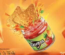 Doritos and Dips 4 for only £3 at Morrisons all flavours