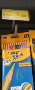 Bic Tropicolors Colouring Pencils £1.50 WAS £3 ASDA IN STORE