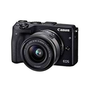 Canon EOS M3 and EF-M 15-45 mm f/3.5-6.3 IS STM Lens £359 @ Amazon (£50 cashback)