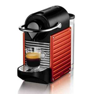 Nespresso Pixie by Krups (Red), Optional 3 year warranty & £45 nespresso credit £59 Amazon