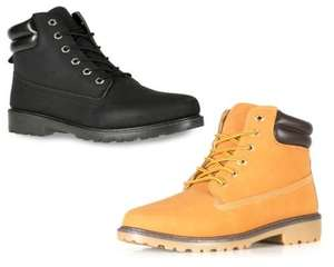 New Mens Casual BOOT  ...Free UK ShIpping use code SHOES10 TO GET ...£15.29... SIZES 6-12.. 2 Colours @ The Shoe Factory