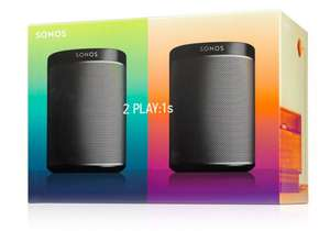 10% off all Sonos with code - twin pack Play 1 £269.99 at crampton and moore