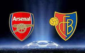FC Basel v Arsenal Champions League - BT Showcase - Free on Freeview Tues 6th Dec 19:45