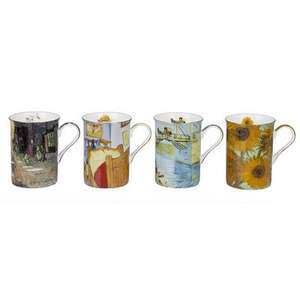 Van Gogh 4 Piece 0.29L Fine China Mug Set £7.99 (+ £4.99 Del if order under £40) @ Wayfair