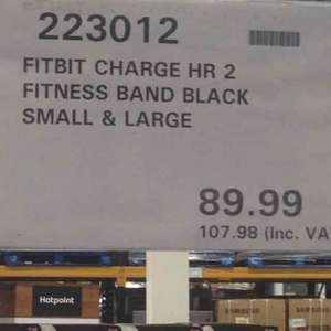 Fitbit Charge HR 2 - £107.98 instore @ Costco