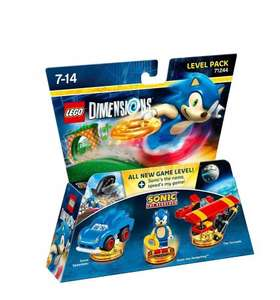 Lego Dimensions: Sonic Level Pack / Gremlins Team Pack £17.99 each at Amazon (w/prime or £20 spend, £19.98 without)