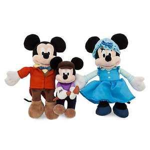 Mickey Mouse Christmas Carol Soft Toy Bundle Half Price @ Disney store - £7.49 (+£3.95 P&P)