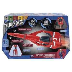 Thunderbirds Are Go Thunderbird 3 Playset £19.95 @ Tesco extra instore